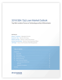 Download 2016 SBA Loan Market Outlook